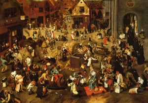 Pieter-Bruegel-the-Younger-The-Battle-between-Lent-and-Carnival